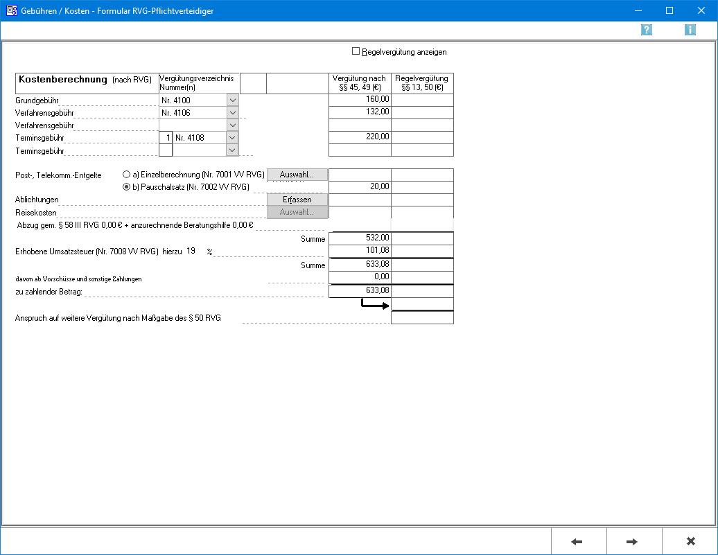 Pkh Formular Rvg Pflichtverteidiger Kostenerfassung Ra Micro Wiki